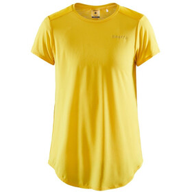 Craft Charge SS Round Neck Tee Women, golden